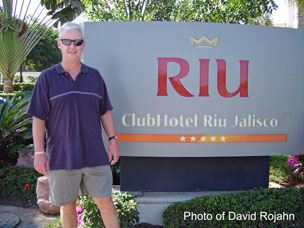 DTR Travel Owner, David Rojahn, conducting resort inspections in Puerto Vallarta, Mexico